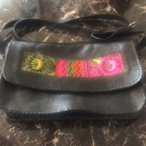 Handbags - Handmade leather crossbody bag